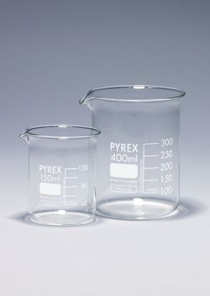 Pyrex® Beakers, low form, Griffin