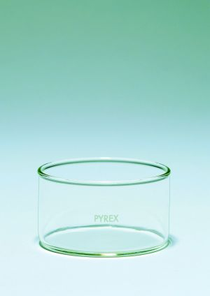 Pyrex® Crystallising dishes, flat bottom