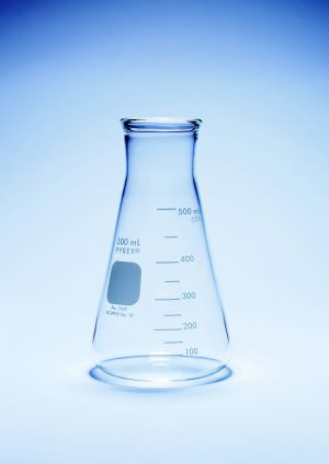 Pyrex®  Flasks, conical, wide neck, heavy duty