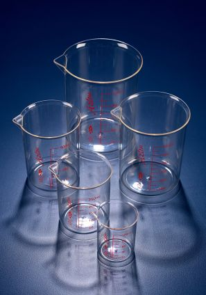 Azlon® Low form Griffin style beaker, PMP