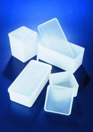 Azlon® Sample boxes, airtight, HDPE