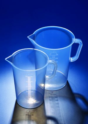 Azlon® Jug with moulded graduations, Polypropylene