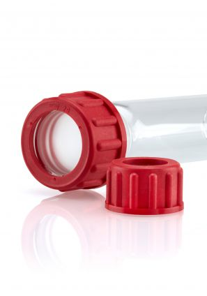 Quickfit Plus® Red PBT Aperture Screwcaps
