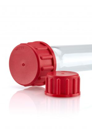 Quickfit Plus® Red PBT Screwcaps