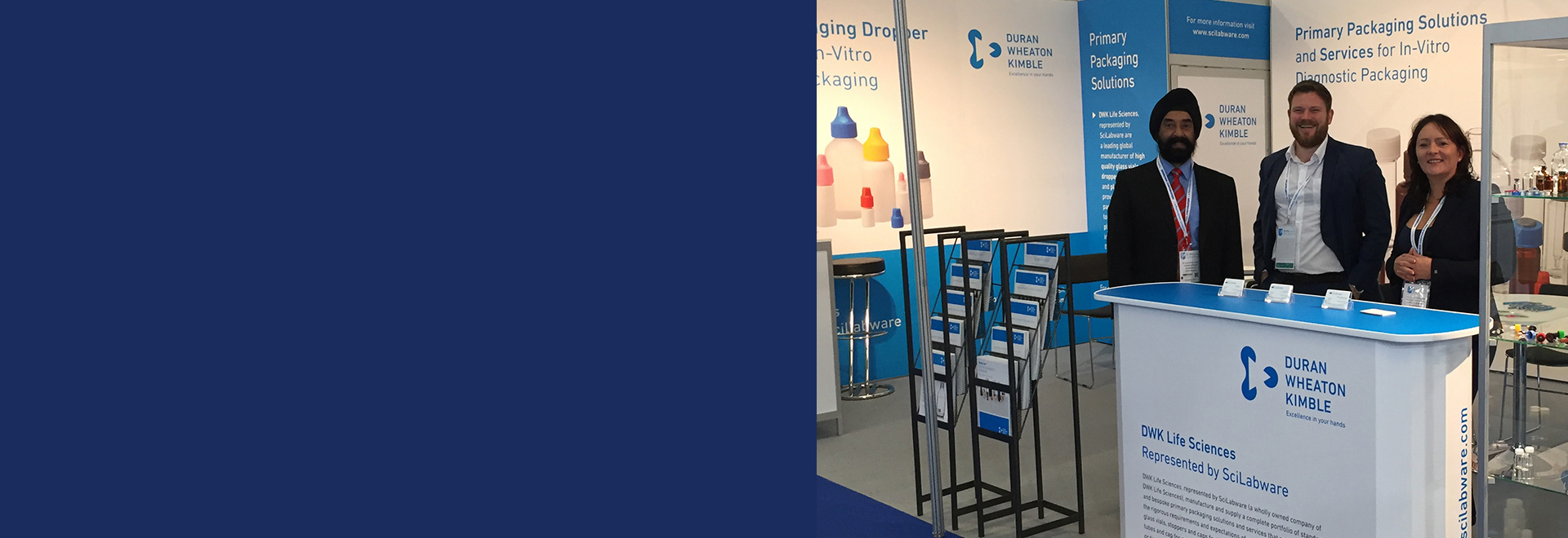 DWK Life Sciences present WHEATON<sup>®</sup> primary packaging solutions at CPhI worldwide 2019