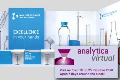 DWK Life Sciences exhibits at analytica virtual