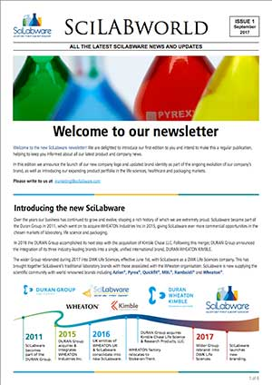 DWK Life Sciences newsletter screenshot