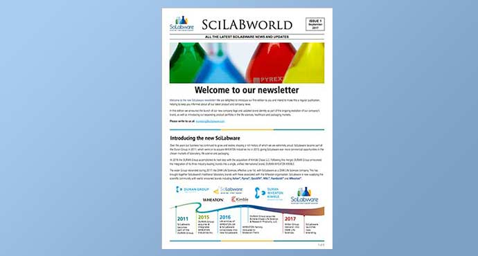 screenshot of DWK Life Sciences newsletter